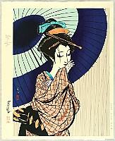 Masayuki Miyata 1926-1997 - Woman in Edo Period