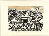 Kiyoshi Mizutani 1902-1977 - Litho Series - The Moon Light