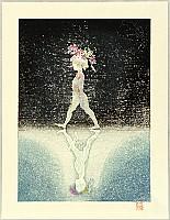 Shigeru Hatsuyama 1897-1973 - Flower Child