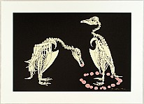 Hideo Takeda born 1948 - Altamira -  Adelie Penguins