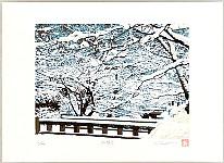 Hideaki Kato born 1954 - Winter at the Philosopher's Street