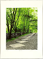Hideaki Kato born 1954 - Green Path II
