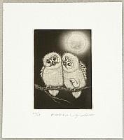 Koji Ikuta 1953 - - Muku Muku - Baby Owls