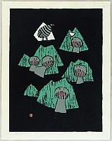 Umetaro Azechi 1902-1999 - Mountain in the Four Seasons