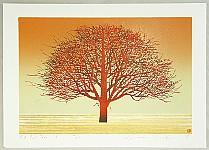 Kunio Kaneko born 1949 - Red Red Tree 3
