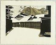Junichiro Sekino 1914-1988 - New Tokaido Fifty-three Stations - Kakegawa