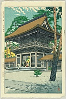 Shiro Kasamatsu 1898-1992 - Eight Views of Tokyo -  Tokyo Hakkei no Uchi - Meiji Jingu Shrine