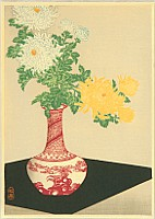Hiroaki (Shotei) Takahashi 1871-1945 - Chrysanthemums