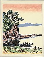 Kihachiro Shimozawa 1910-1986 - Landscape