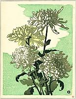 Tomoo Inagaki 1902-1980 - Chrysanthemums