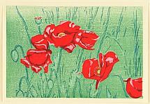 Tomoo Inagaki 1902-1980 - Kitsutsuki Vol.1  -  Red Poppy