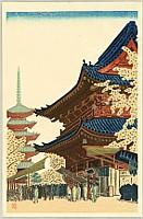 Masao Maeda 1904-1974 - Ni-o- Gate of Senso Temple