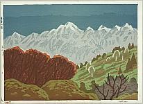 Masao Maeda 1904-1974 - Mt. Togakushi in Early Spring