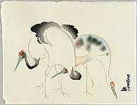 Houchu Nakamura ? - 1819 - Cranes