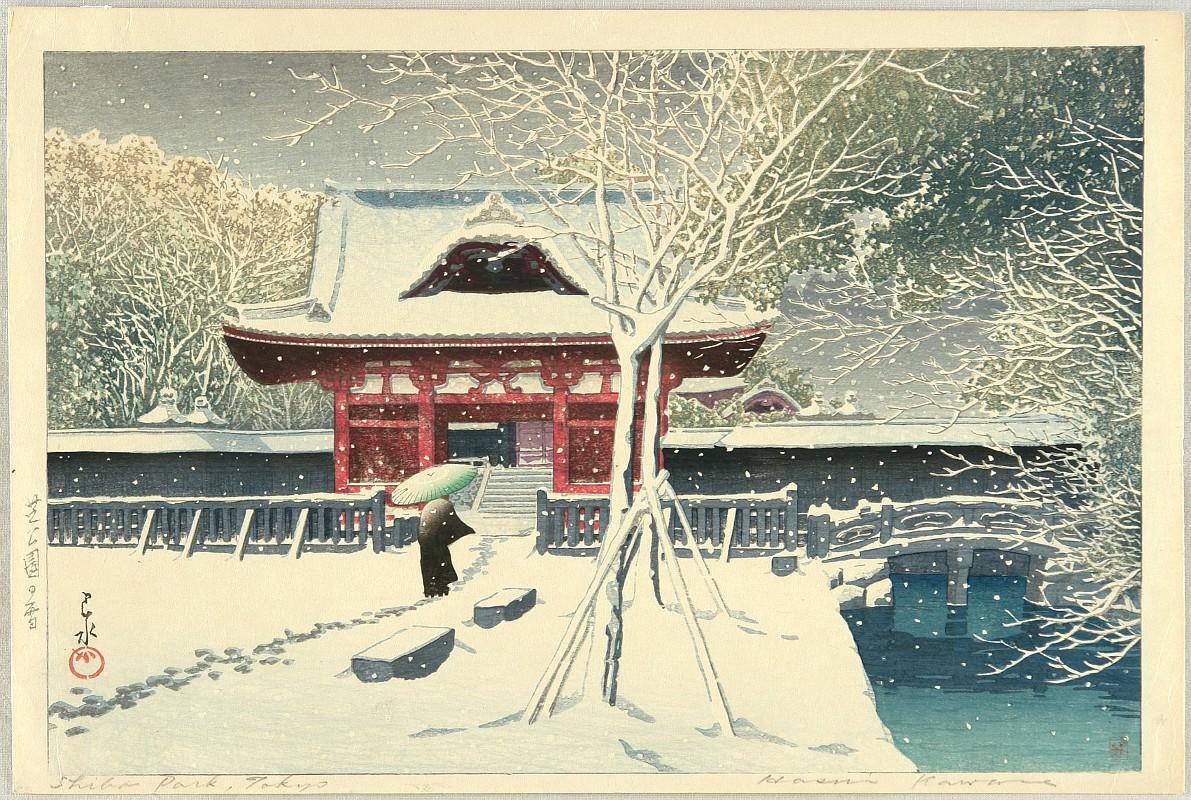 By Hasui Kawase 1883-1957