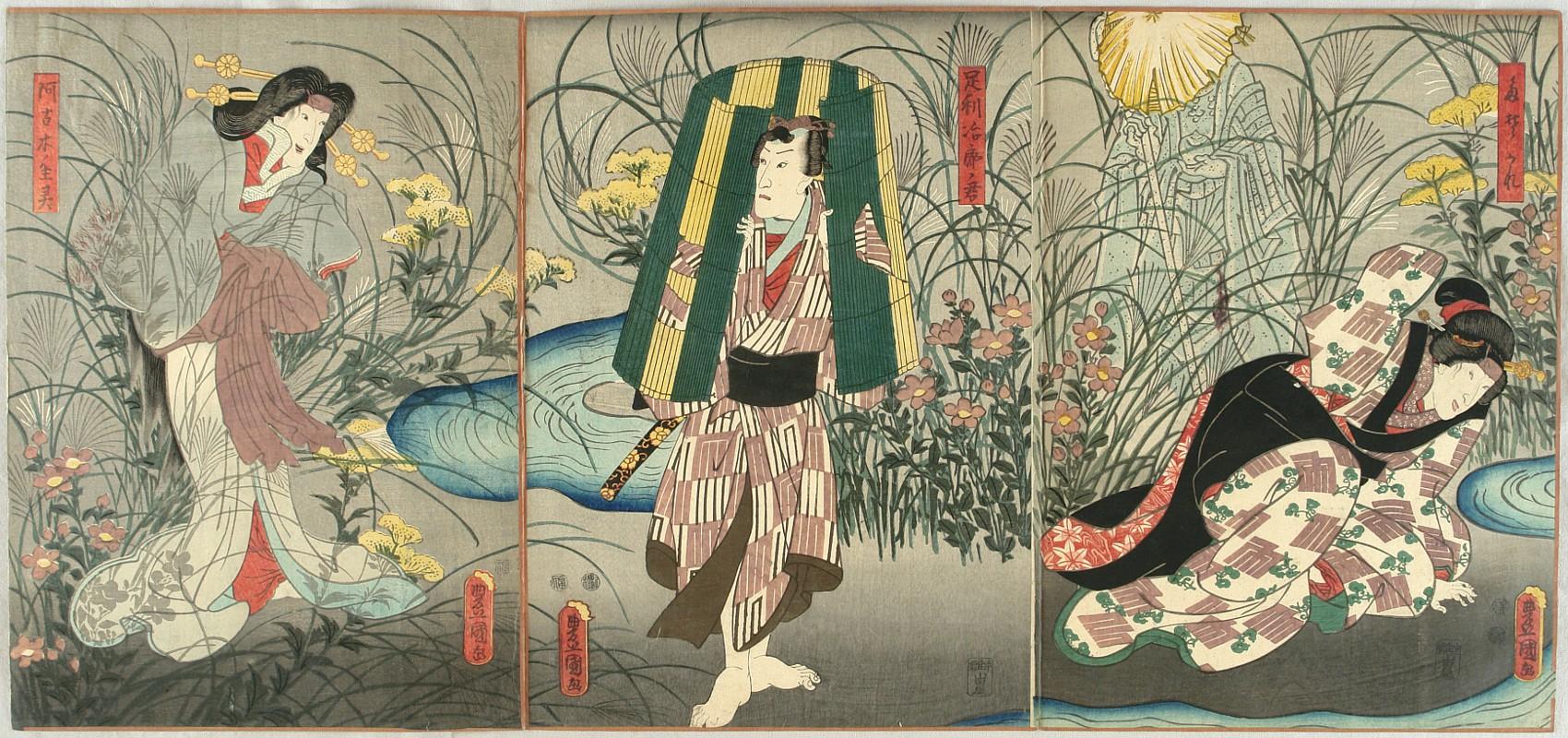 kunisada utagawa - biography and woodblock prints