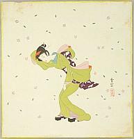 Settai Komura 1887-1940 - Beauty in the Wind