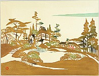 Toshijiro (Nenjiro) Inagaki 1902-1963 - Water Mill