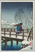 Hasui Kawase 1883-1957 - Edo River