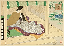 Masao Ebina 1913-1980 - The Tale of Genji - Vol. XXXVIII, Suzumushi
