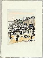 Tokio Miyashita born 1930 - Memories of Journey to Sado Island - Fishing Village