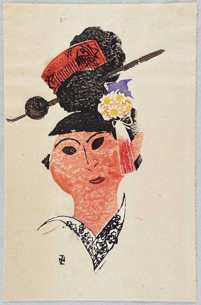 Manjiro Asaka 1885-1965